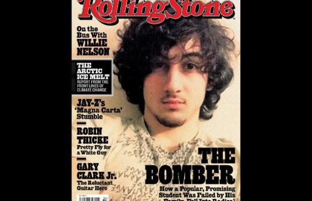 Rolling Stone Cover with Boston Bombing Suspect