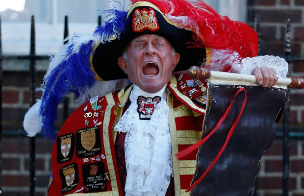 Royal Baby Town Crier