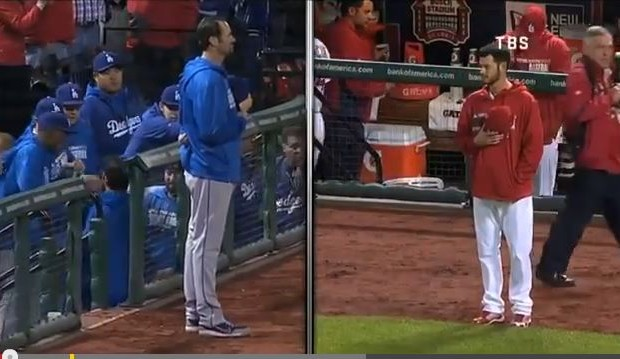 MLB National Anthem Standoff