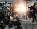 "This photo provided by Electronic Arts/Respawn Entertainment shows a scene from the video game, ""Titanfall."""