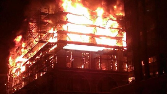 Younkers Fire: DMFD's Brian O'Keefe