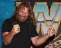 WWE legend Jim Hacksaw Duggan appears at WWE Wrestlemania Axxess, a fan event at the Miami Beach Convention Center, Thursday, March 29, 2012 in Miami Beach, Fla. Wrestlemania XXVIII will be held Sunday at Sun Life Stadium in Miami Gardens, Fla.
