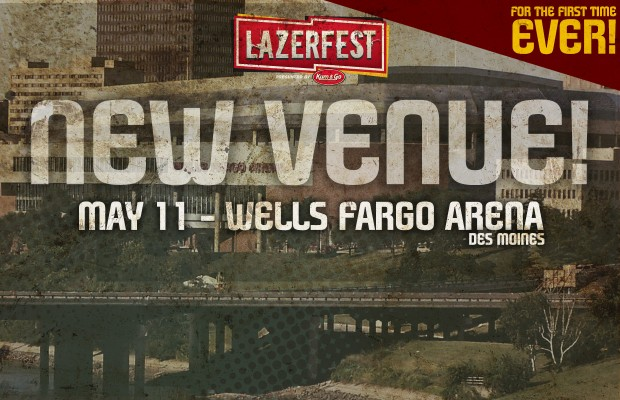 LAZERfest: NEW VENUE!