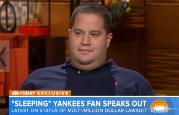 Guy Suing Yankees Speaks