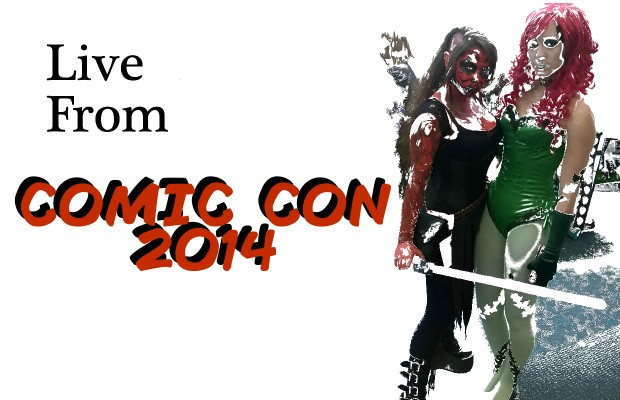 Live from COMIC CON 2014