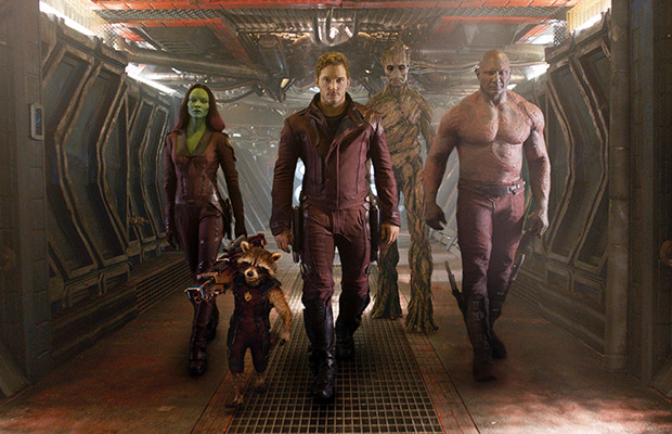 Pee Times for 'Guardians of the Galaxy'