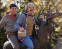 "This image released by Universal Pictures shows Jim Carrey, left, and Jeff Daniels in a scene from ""Dumb and Dumber To."""