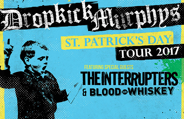 Win Drop Kick Murphys Tickets