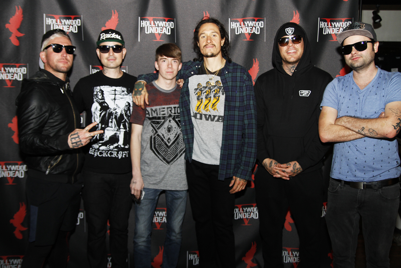 Hollywood Undead Meet And Greet Lazer 1033