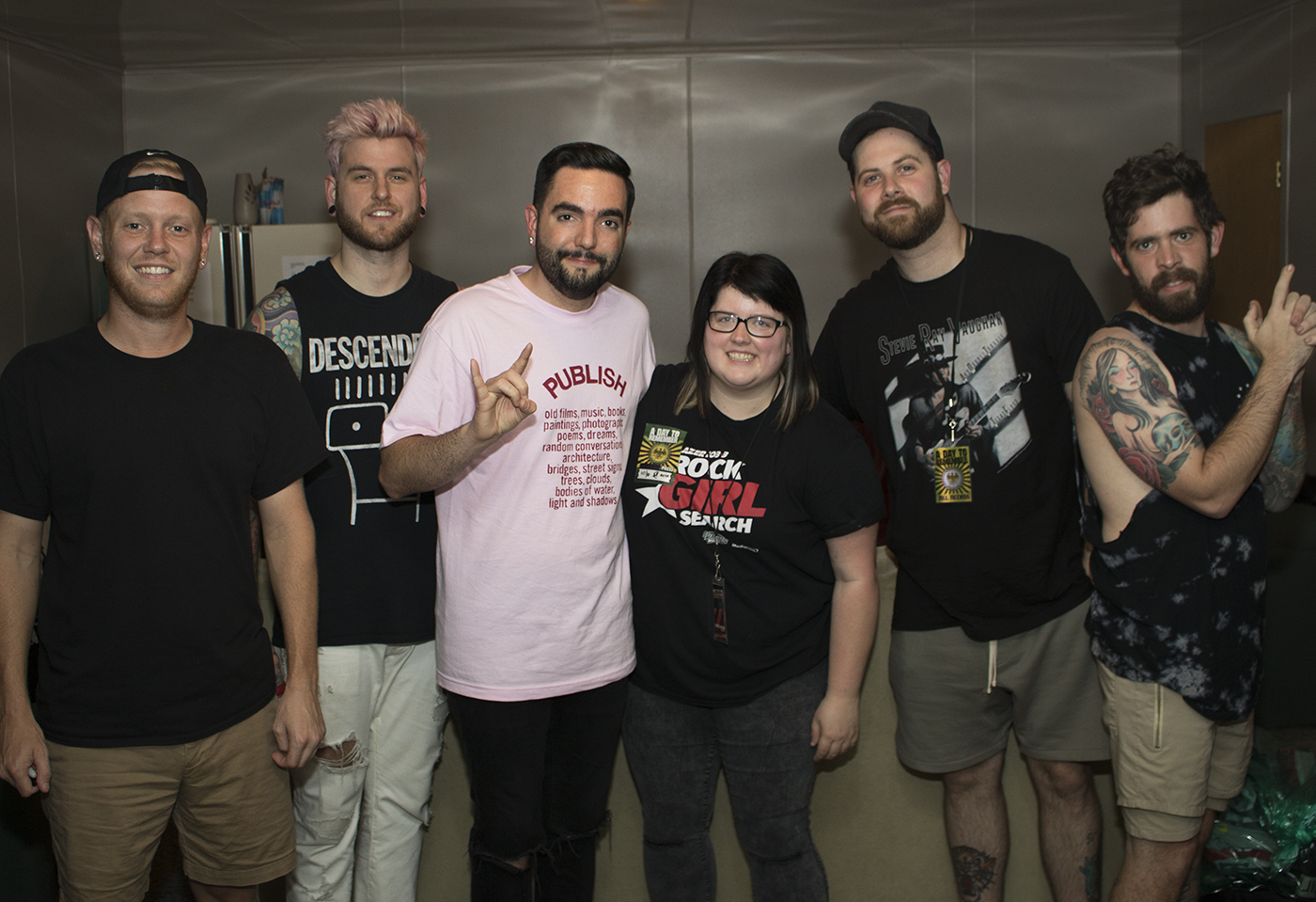 A Day To Remember Meet And Greet Lazer 1033
